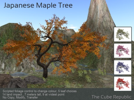 Twisted Maple mesh tree