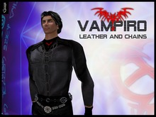 Gaagii - Vampiro Jacket in Chains (BOXED) V1