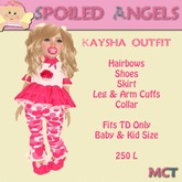 [S][A] Kaysha Outfit - Baby/Kid