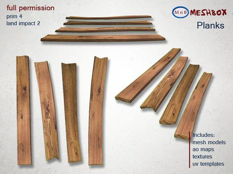 *M n B* Planks (meshbox)