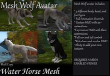 ~*WH*~ Mesh Wolf Avatar