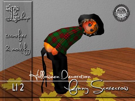 Halloween Decoration - Funny Scarecrow MT