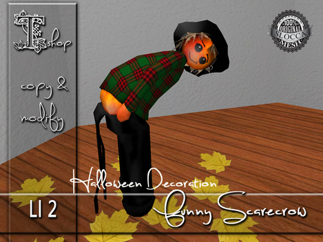 Halloween Decoration - Funny Scarecrow MC
