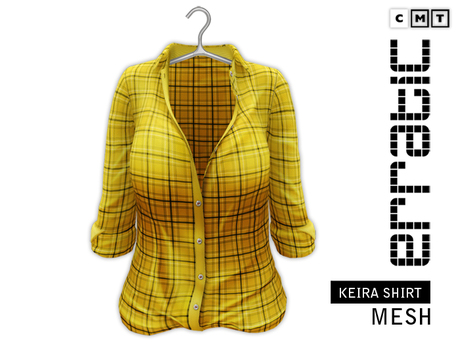 erratic / keira - shirt / yellow plaid