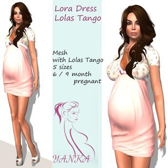 Lora Dress Maternity/Lolas Tango   Pink