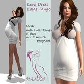 Lora Dress Maternity/Lolas Tango  Gray