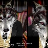 *6DOO* wolf head ominous