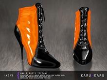 KARU KARU - Ankle Boots Tiffany (ORANGE)