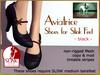 Bliensen + MaiTai - Aviatrice - vintage shoes for Slink - Black