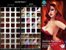 ^;^CaTwA^;^ Mesh Jessica Rainbow Hair [1]