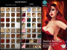 ^;^CaTwA^;^ Mesh Jessica Rainbow Hair [2]