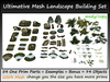 Ultimative Mesh Landscape Set 54 One Prim Parts+Examples c/m