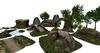 Ultimative mesh landscape building set 56 one prim parts examples 015