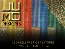 .:JUMO:. Dazzle Fabrics Textures - SALE