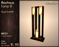 Bauhaus Lamp 2 (Mesh) - *DeSSion*