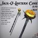 Jack-O'-Lantern Cane