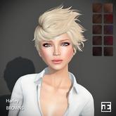 TRUTH HAIR Harley (Mesh Hair) - browns