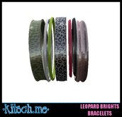 kitsch me - Rock and Roll Leopard Bangle Bracelets dollarbie