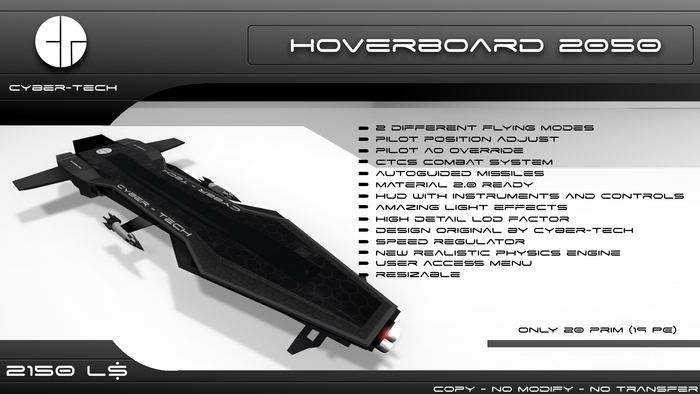 HOVERBOARD 2050 - CTCS