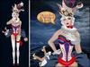Boudoir -White Wonderland Bunny