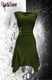 BlackRose Lagenlook Tunic Dress Cypress
