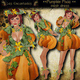 Pumpkin Pixie - Halloween fairy costume **OUTLET ITEM**