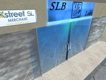[SLB] Scripted Sliding Glass Door w/ handle m/c (4x) (Boxed)