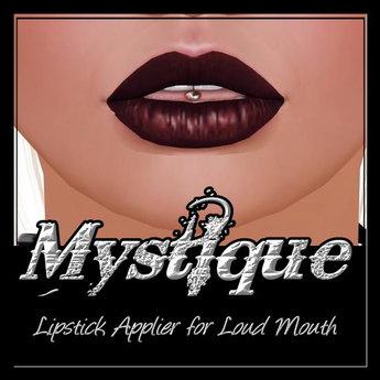 -Mystique-Lipstick 6 Applier For.Loud Mouth.