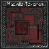 Madville Textures - Carved Ornamental Wood Frames, Black tagGoth
