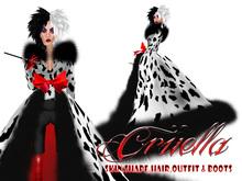 Boudoir -Cruella Avatar
