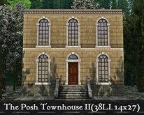 The Posh Townhouse II(14x27, 38LI)
