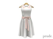 Prude.Mesh Dress Alice - White