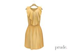 Prude.Mesh Dress Gwen - Apricot
