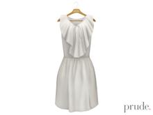 Prude.Mesh Dress Gwen - White