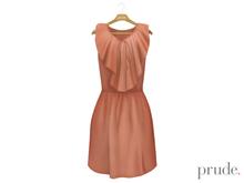 Prude.Mesh Dress Gwen - Peach