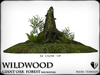 Wildwood giant oak forest base mod stump 1