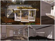 """<HEART HOMES> """"Autumn Love Nest"""" Couple Home (Copy, Mod, Rezzer)"""