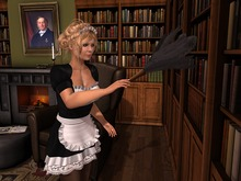 Dutchie mesh feather duster: 2 versions, wearable and decorational