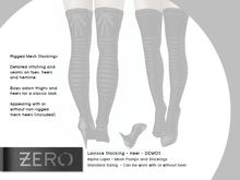[ zerO ]  Lavisce Rigged Mesh Stocking + Heel  - DEMO (BOX)