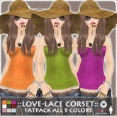 ::LEO-NT:: LOVE-LACE Corset Fatpack all 9 Colors