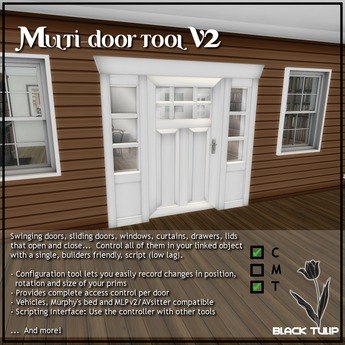 [Black Tulip] Script - Doors - Multi-Door/Drawer/Curtain Tools V2