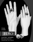 [ zerO ] Mesh Clan Signet Ring (Male+Female) - Lasombra (BOX)