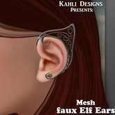 {KD} Kahli Designs - Faux Elf Ears - Silver