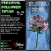 Personal Follower Rose Tipjar - Floral - Copyable Floating TipJar