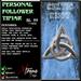 Personal Follower Tipjar - Celtic Knots - Triquetra - Copyable Floating TipJar