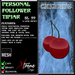 Personal Follower Tipjar - Cherries - Cherry - Copyable Floating TipJar