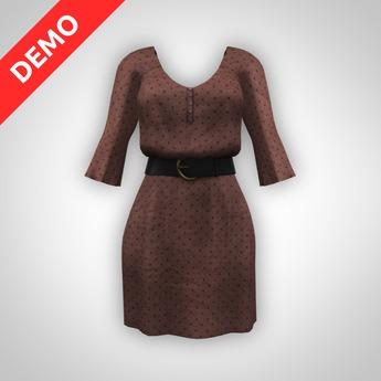 ANOIRCRE Vieux Dress DEMO (mesh)
