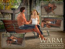 Warm - Pier Bench