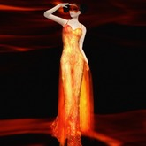 ~ghee~ Elemental Gown Series - Fire