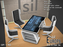 ~Isil~ *Europa* Desk and Chair Set